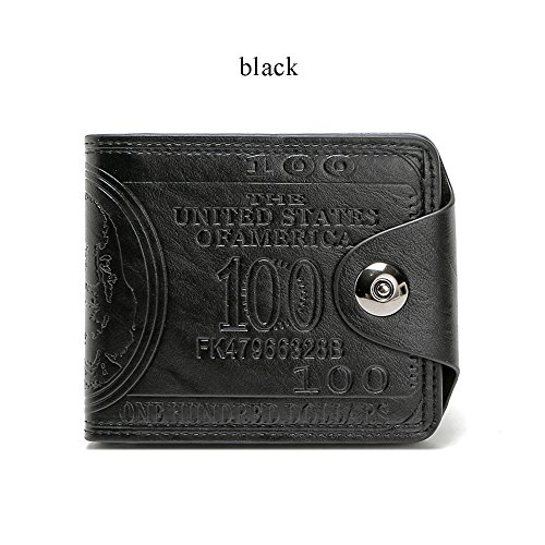 Men S Novelty Us 100 Dollar Wallet Bill Money Billfold