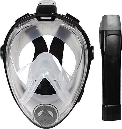 Amazon.com: Deep Blue Gear Vista Vue - Máscara de esnórquel ...