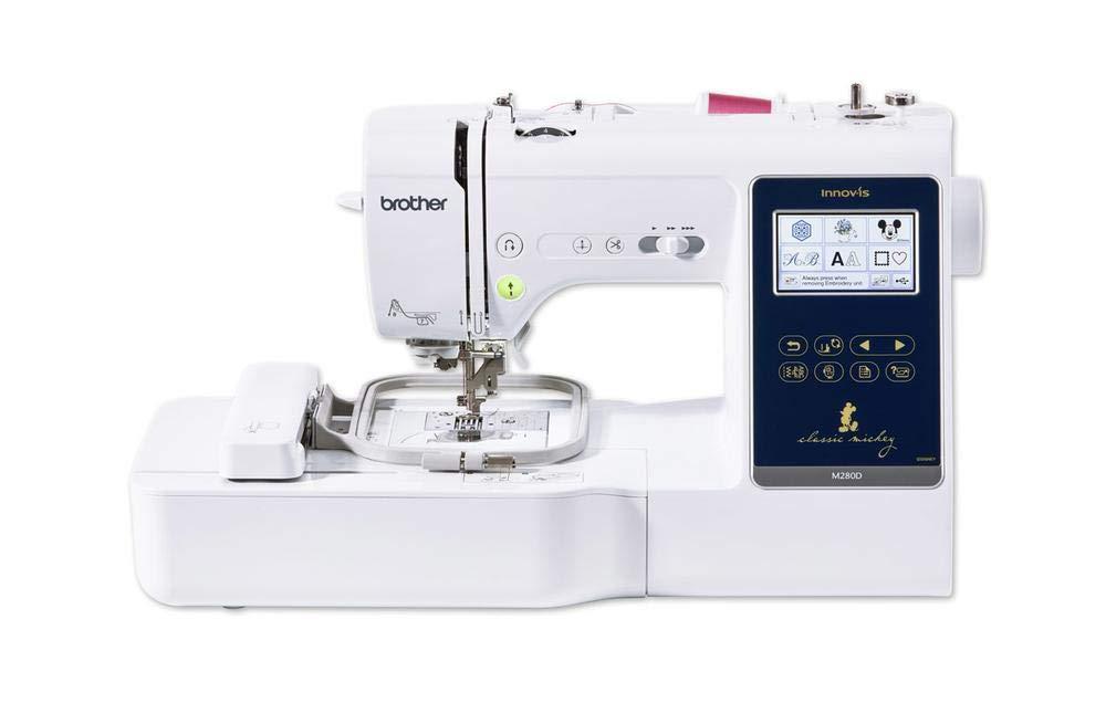 Brother Innovis M280D Máquina de coser y bordar: Amazon.es: Hogar