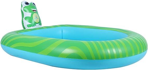 Lzww Piscina para Niños Chorro de Agua Piscina Hinchable Familiar para Bebés Fit Summer Garden Juegos Acuáticos,Frog,S: Amazon.es: Deportes y aire libre