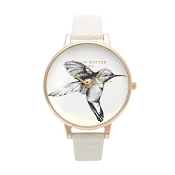 Image Unavailable. Image not available for. Color  Olivia Burton Animal  Motif Mink Hummingbird Quartz Analog Women s Watch OB13AM06 0ff028fe37