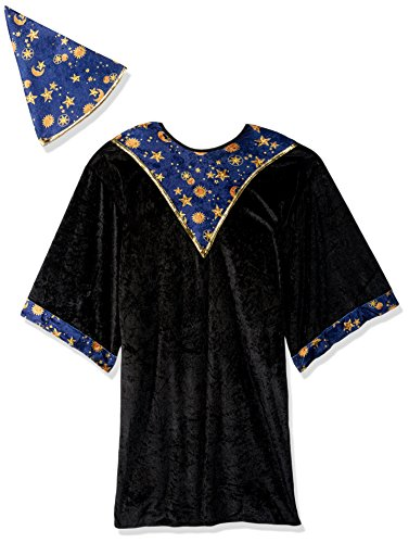 RG Costumes Black Mage Costume, Blue/Yellow, Small