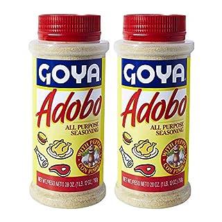 Goya Adobo with Pepper All Purpose Seasoning, 28.0 OZ (Pack of 2)