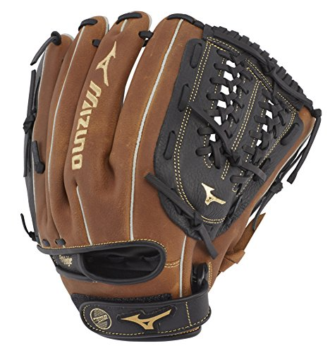 Mizuno GPSL1150BR Prospect Select Series Infield/Pitcher Baseball Gloves, 11.5