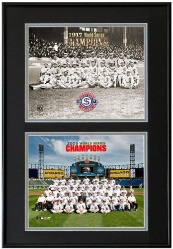 (That's My Ticket Chicago White Sox 1917 and 2005 World Series Champions Frame)