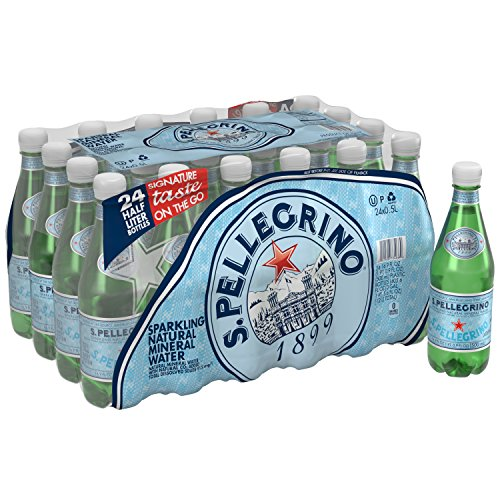 S.Pellegrino Sparkling Natural Mineral Water, 16.9 fl oz. (24 Count) (Sparkling Clean Natural)