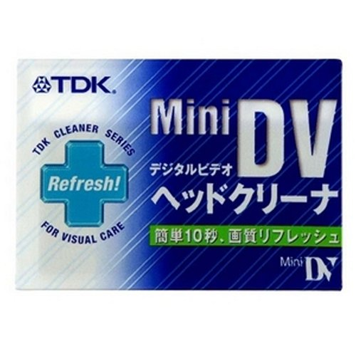 TDK 미니 DV 용 헤드 클리너 DVM-HC1SF / TDK Mini DV Head Cleaner DVM-HC1SF