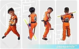 Niños Disfraz para Bola del dragón Son Goku Ropa de Entrenamiento L