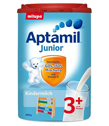 Aptamil Kids Milk Junior 3+ from the 3nd year, 1x800g (1x1.76lb)