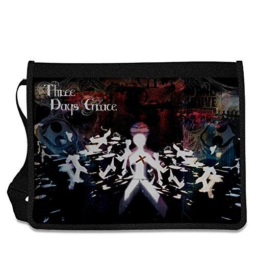 Three Days Grace Shoulder Messenger Bag by PrintPro