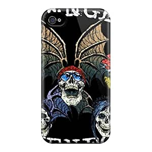 DYR7938GLau Snap On Cases Covers Skin Case For Samsung Note 2 Cover(avenged Sevenfold Logo)