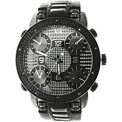 Super Techno Men's Diamond Watch (0.10 Ct.tw.) - M6136