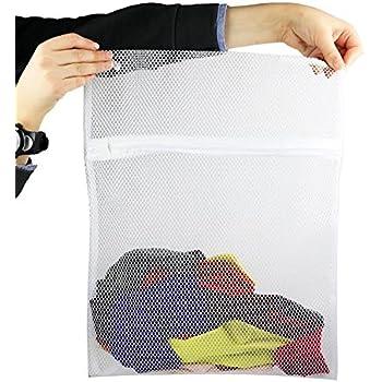 Amazon Com Mesh Laundry Bag Wash Mesh Socks Bag W Zipper