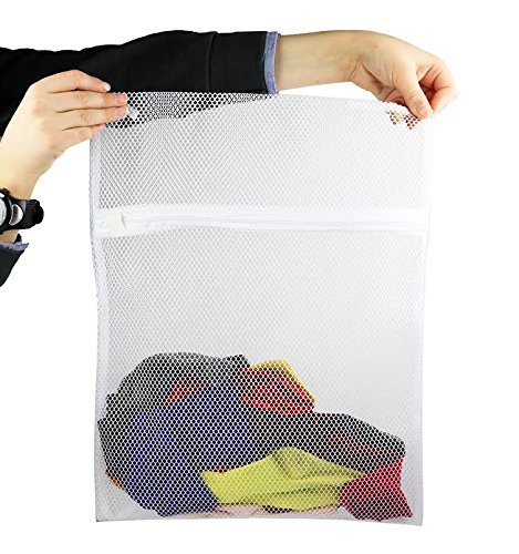 Mesh Laundry Socks Zipper Closure product image