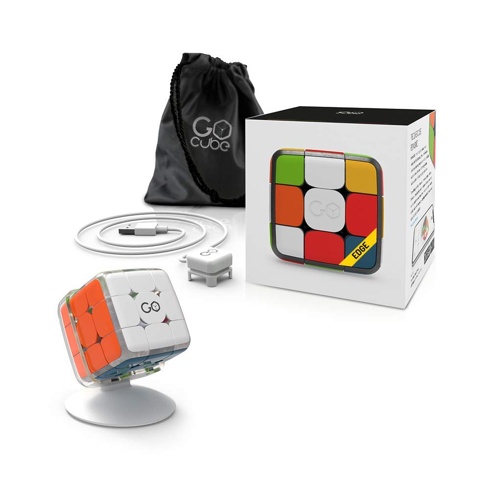 GoCube Connected Puzzle Cube Game and STEM Toy for Speed and Competition by GoCube