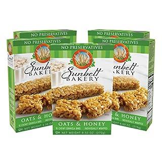Sunbelt Bakery Oats & Honey Chewy Granola Bars, 1.0 oz Bars, 50 Count