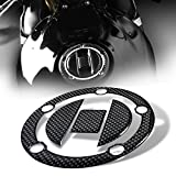 2014 suzuki gsxr 1000 stickers - 3D Gas Tank Fuel Cap Cover Protector Pad for Suzuki GSXR-600/750/1000 (Carbon Fiber Look)