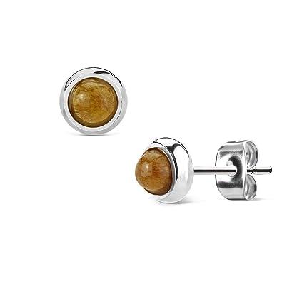 d436332e7fda9 Ladies 1?Pair BEYOU Beautiful Things Amethyst Bezel Set Ear Plug ...