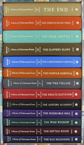 Series of Unfortunate Events Box Thirteen Books
