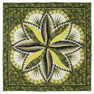 Fire Island Hosta Quilt Pattern
