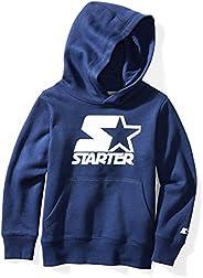 Starter Boys' Pullover Logo Hoodie, Amazon Exclu
