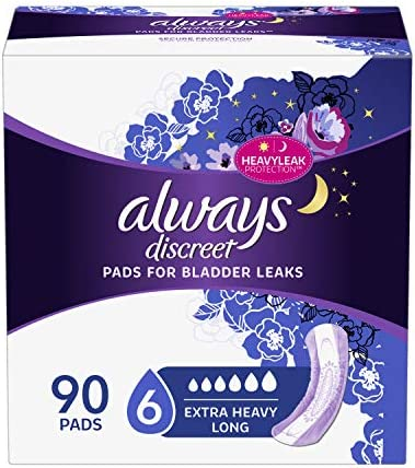 Always Discreet Incontinence Ultimate Overnight product image