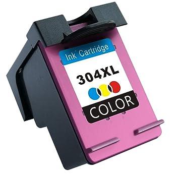 TooTwo Remanufacturado Cartuchos de Tinta Reemplazo para HP 304 XL 304XL (1 Tricolor) Compatible con HP Envy 5010 5020 5030 HP Deskjet 2620 2622 2630 ...