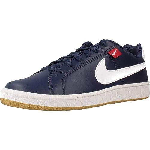 puesta de sol transmitir Excavación  Nike Court Royale TAB Sneakers for Men Navy Blue: Amazon.in: Shoes &  Handbags