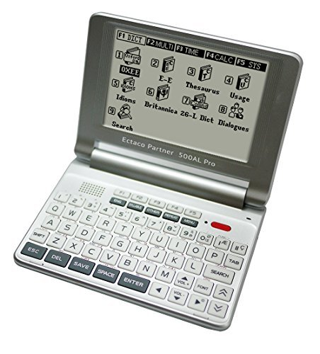 ECTACO 500AL Pro Multilingual Translator