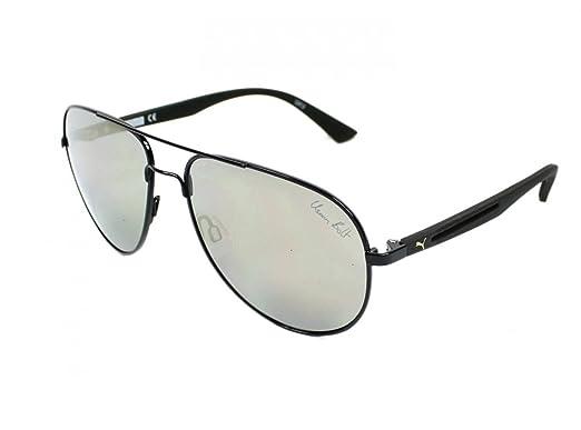 348b5a8e9a Image Unavailable. Image not available for. Color  Puma Flexstyle V2 007  Black Flexstyle V2 Pilot Sunglasses Lens ...