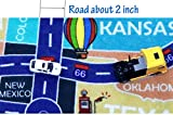 2018 Kids Rug Area Play Mat Car Carpet with Road