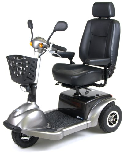 Drive Medical Prowler Mobility Scooter, 3 Wheel, 22 Inch (Prowler 4 Wheel)