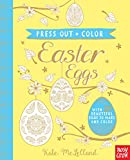 Press Out and Color: Easter Eggs (Press Out + Color)