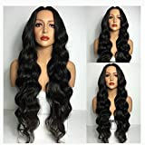 Full Lace Human Hair Wigs 150% Density Pre Plucked With Baby Hair Brazilian Body Weave Full Lace Wig For Black Women (22'', full lace wig)