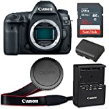 Canon EOS 5D Mark IV 30.4 MP CMOS Digital SLR Camera with 3.2-Inch LCD (Body Only) - Wi-Fi Enabled (Certified Refurbished)