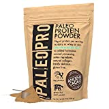 PaleoPro Protein Powder, Gluten Free, Dairy Free, Whey Free, Soy Free, No Added Hormones, Pastured Grass-fed Beef, Minimally Processed Paleo Ingredients, 1lb/454g, About 15 Servings, Ancient Cacao
