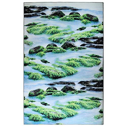 Best Nylon Carpet - LOCHAS Premium Collection Contemporary Nylon Rug for Living Room Bedroom Dining Room Rug, 5' X 7.5'