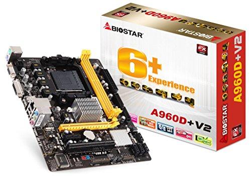 Socket Dvi (Biostar A960D+V2 AMD Socket AM3+ mATX VGA/DVI Motherboard)