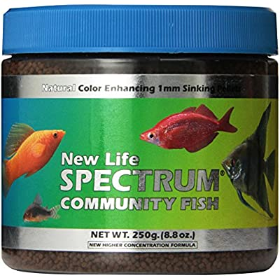 Click for New Life Spectrum Community Fish 1mm Sinking Freshwater Pet Food, 250gm