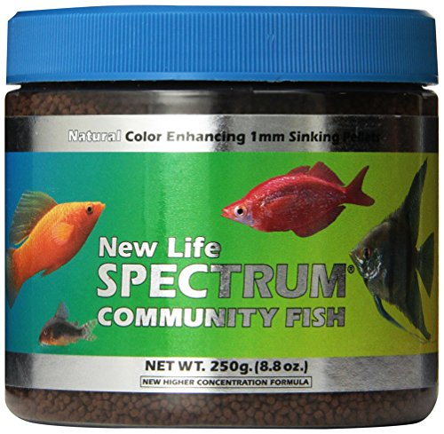 Galleon new life spectrum community fish 1mm sinking for New life spectrum fish food