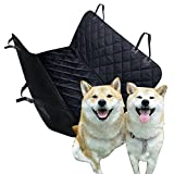 Okbonn- Pet Seat Cover for Back Seat XL Car Seat Cover For Pets Dog Seat Cover Hammock Pet Seat Covers Heavy Duty Waterproof Scratch Proof Nonslip Durable Dog Seat Protector for Cars Trucks and SUVs