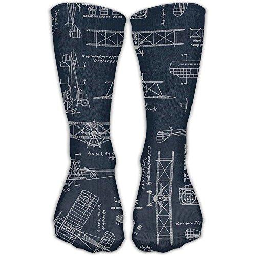 Aviation Aviators Transportation BlueWanderlust Air Travel Compression Socks For Men & Women. Guaranteed To Prevent Swelling, Pain, - Basketball Aviator