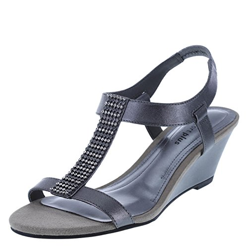 comfort-plus-by-predictions-womens-pewter-womens-swanky-embellished-wedge-11-wide