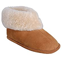 Ricardo B.H. The Classic Sheepskin Men's Bootie Slipper