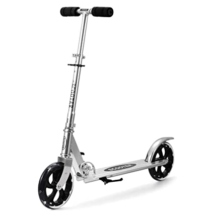 oldhorse Scooter Patinete – Patinete 3 ruedas Mini Niños Scooter ajustable Brazo para niños y adultos
