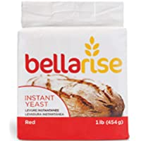 Bellarise (Red) Instant Dry Yeast - 1 LB Rapid-rise Instant Yeast for Bread