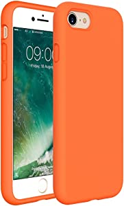 Miracase iPhone SE 2020 Case,iPhone 8 case,iPhone 7 Silicone Case Gel Rubber Full Body Protection Cover Case Drop Protection for Apple iPhone SE 2020/ iPhone 8/ iPhone 7(4.7