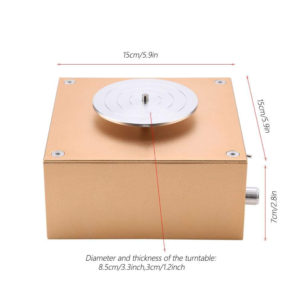 Akozon Ceramics Clay Machine12V 1500tr//min Disque de po/êle /électrique en c/éramique de travail Clay Shaping Tool 220 V EU C/éramique /Électrique