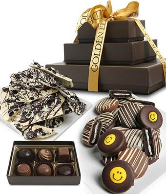 From You Flowers - SMILE BELGIAN CHOCOLATE Gourmet Gift Tower (20 Pieces)