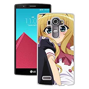 Popular And Unique Designed Cover Case For LG G4 With Girl Blonde Surprise Street Sky white Phone Case BY icecream design